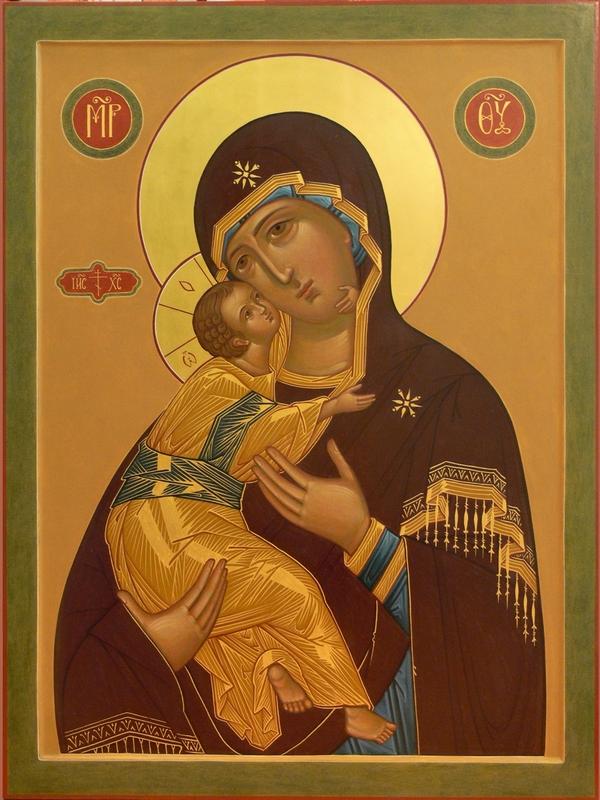 """Молитва Пресвятой Богородице перед Ея иконой, именуемой """"Владимирская"""""""